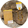 Child Amber Necklace Premium - Lemon Cognac