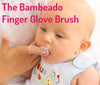 Teething Toys Set by Bambeado. Color combination - Magenta/Green/Orange
