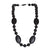 Silicone Teething Necklace - Amalie Shape - Black