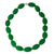 Silicone Teething Necklace - Seed Shape - Green