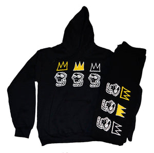 BLK Kings 1987 Sweatsuit Set - blacknugly
