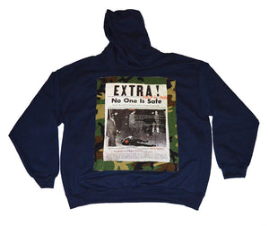 EXTRA No One Is Safe Hoodie (available in any color) - blacknugly