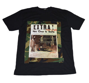 EXTRA No One Is Safe Tee (available in any color) - blacknugly