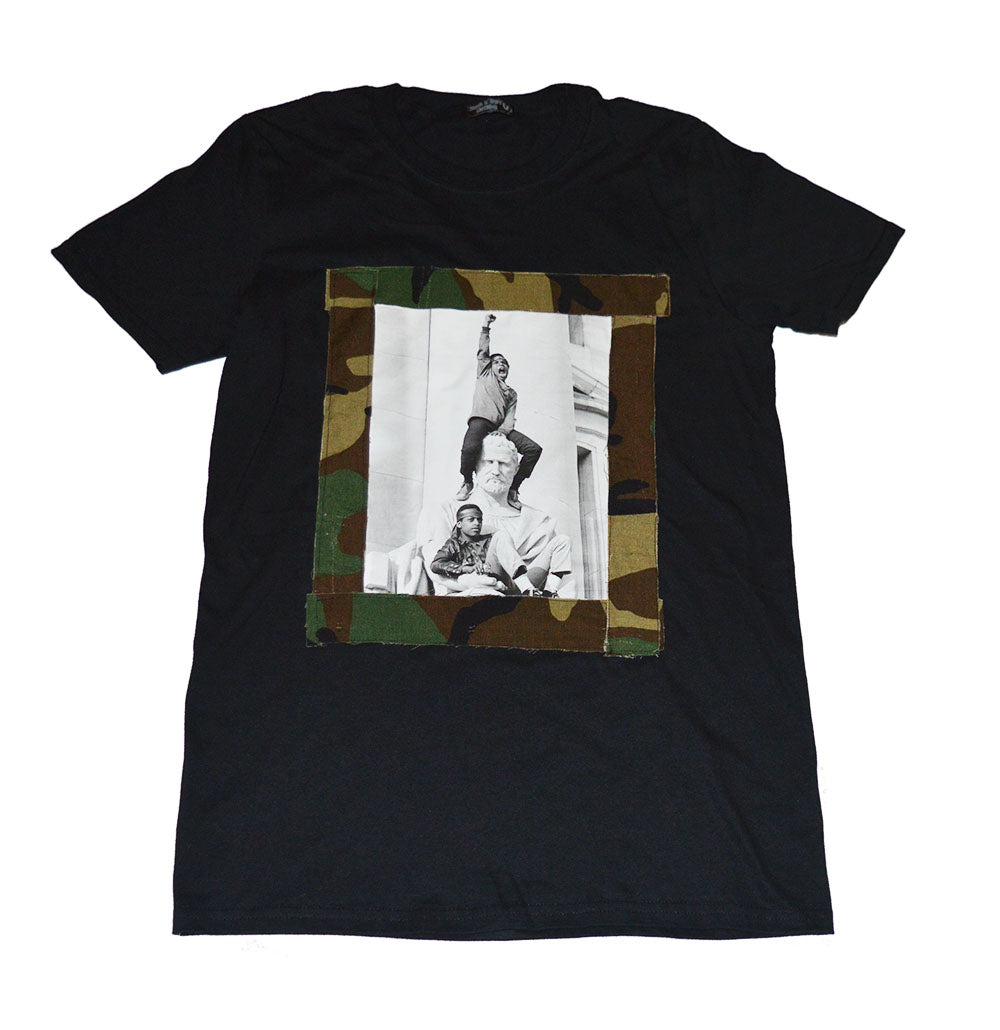 Rebel Camo Tee (available in any color) - blacknugly