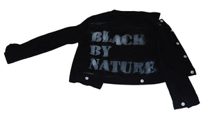 Black By Nature Denim Jacket - blacknugly