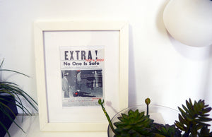 Extra No One Safe Framed Photo - blacknugly