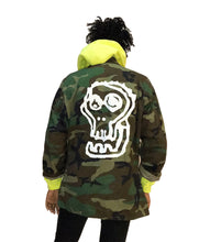 Load image into Gallery viewer, Military Camo Logo Jacket - blacknugly