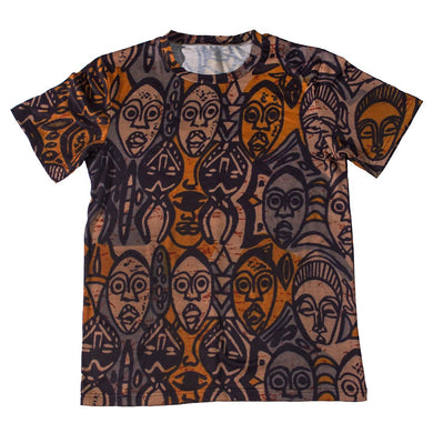 Tribal Masks Tee - blacknugly