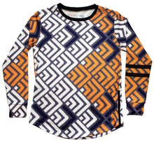Load image into Gallery viewer, Waves Long Sleeve - blacknugly