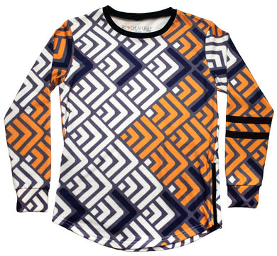 Waves Long Sleeve - blacknugly