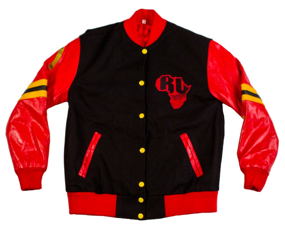 BU Letterman Varsity Jacket - blacknugly