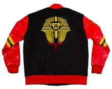 Load image into Gallery viewer, BU Letterman Varsity Jacket - blacknugly
