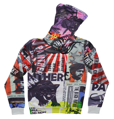 Black Panther Newspaper Hoodie - blacknugly