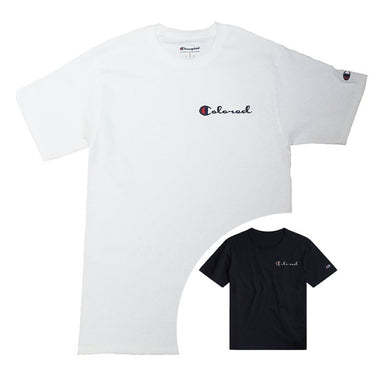 Colored CHAMPION Tee - blacknugly