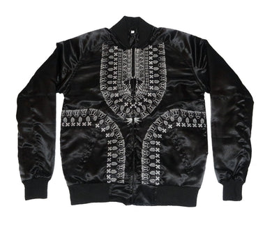 Dashiki Bomber Jacket - blacknugly