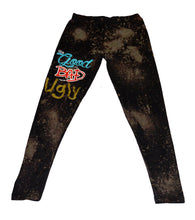Load image into Gallery viewer, GBU Bleached Leggings - blacknugly