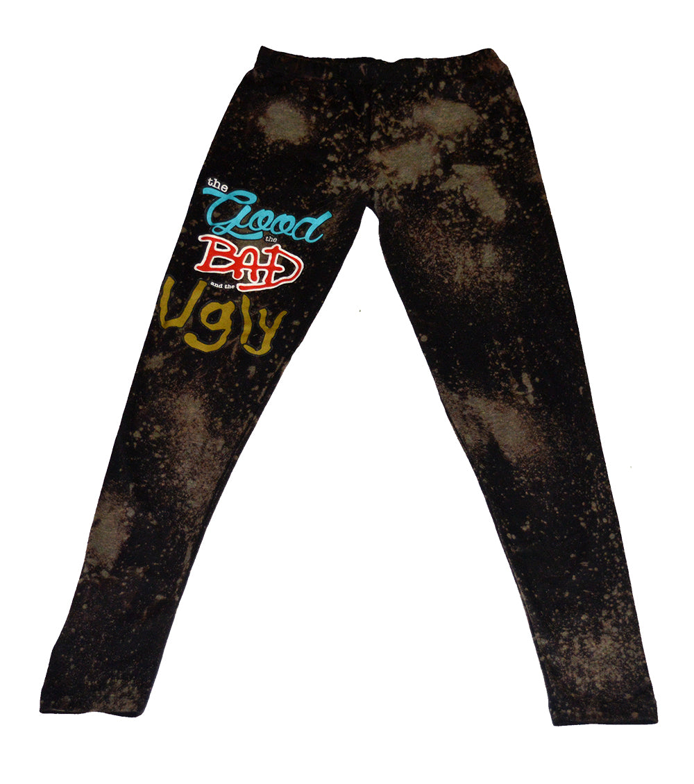 GBU Bleached Leggings - blacknugly