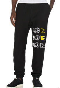 BLK Kings 1987 Joggers - blacknugly