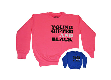 Kids Young Gifted Black Sweater (Limited) - blacknugly