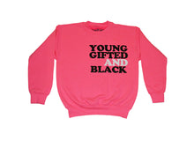 Load image into Gallery viewer, Kids Young Gifted Black Sweater (Limited) - blacknugly