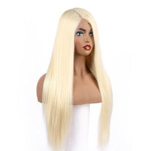 613 Straight Blonde Lace Front Wig