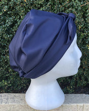 Load image into Gallery viewer, Splash Happy Shower Cap Navy Blue