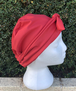 Splash Happy Shower Cap Red