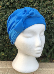 Splash Happy Silk Sleep Cap Sky Blue