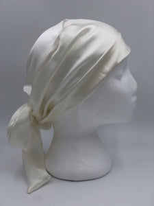 Splash Happy Silk Sleep Cap Ivory