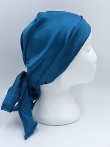 Splash Happy Silk Sleep Cap Lapis