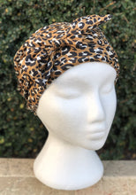 Load image into Gallery viewer, Splash Happy Silk Sleep Cap Leopard