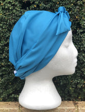 Load image into Gallery viewer, Splash Happy Shower Cap Sky Blue