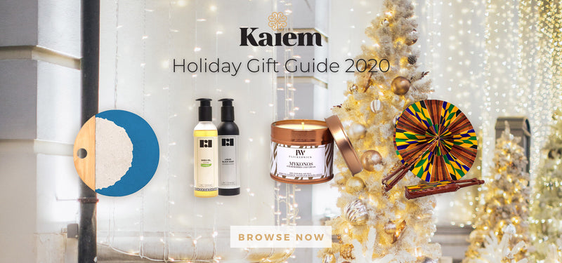 Kaiem's 2020 Holiday Gift Guide