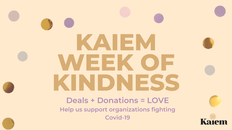 Kaiem Week of Kindness