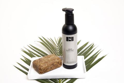 R&R Luxury African Black Soap