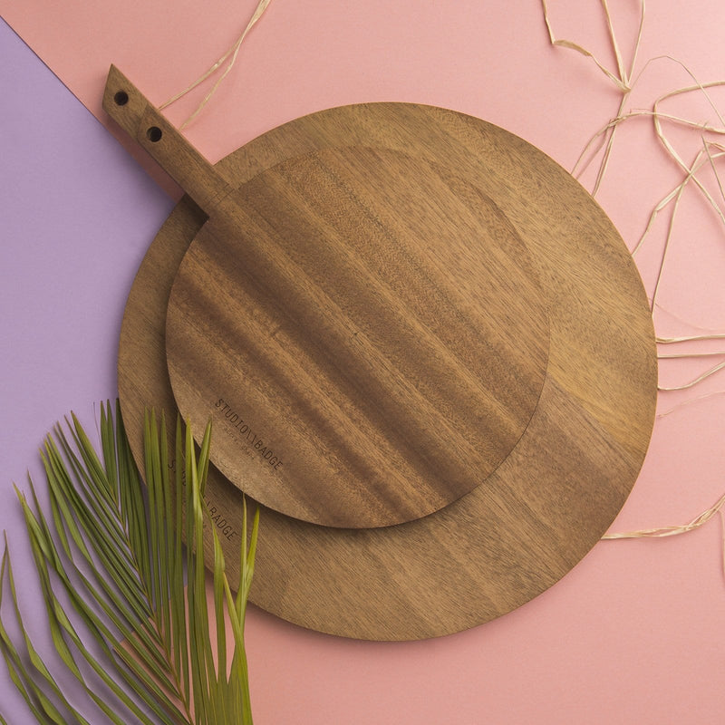Studio Badge Mana Wooden Platter