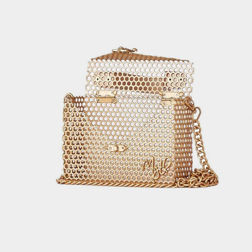 Myth House Mini Emmy Handbag with Leather Handle