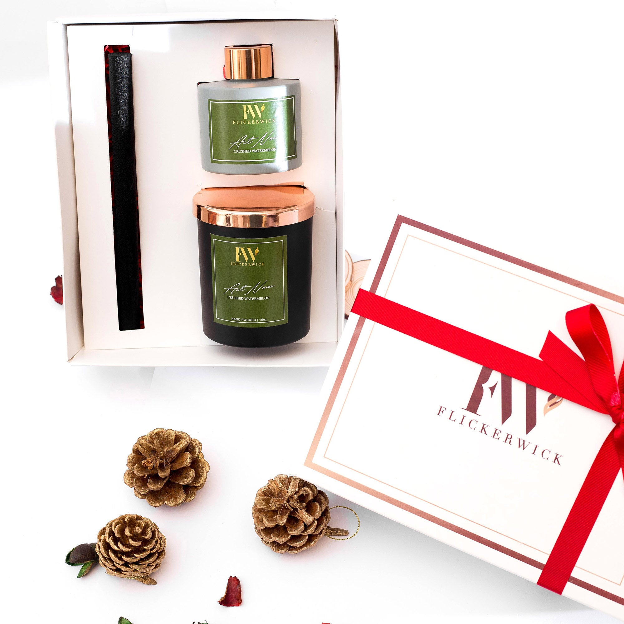 Flickerwick Candles: The Holiday Gift Set