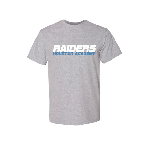 Raiders Short Sleeve Gray Tee