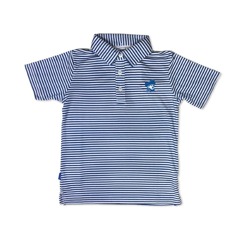 Raider Youth Striped Polo
