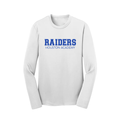 Raiders Royal Long Sleeve Performance Tee - Youth Large Only