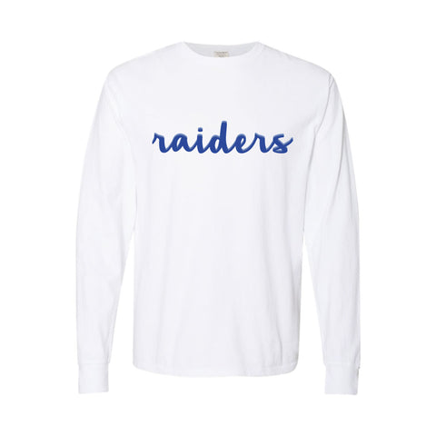Girly Raiders Long Sleeve Tee