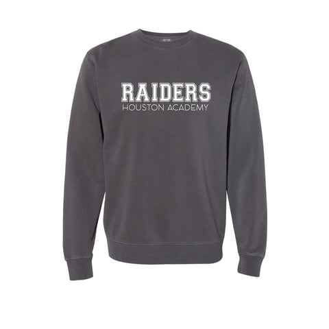Raiders Adult Grey Crewneck Sweatshirt