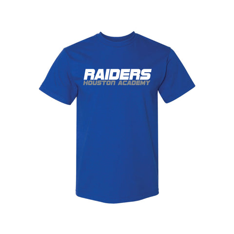 Raiders Short Sleeve Royal Tee