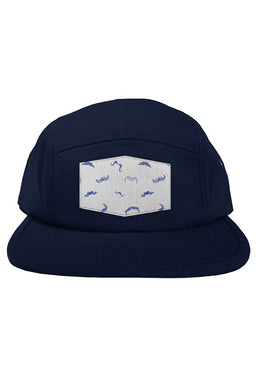 Five Panel - Stache Hat