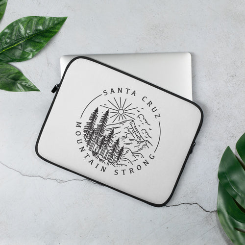 Santa Cruz Mountain Strong - Laptop Sleeve
