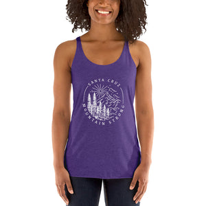 Santa Cruz Mountain Strong - Women's Racerback Tank