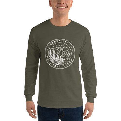 Santa Cruz Mountain Strong - Men's Long Sleeve Shirt