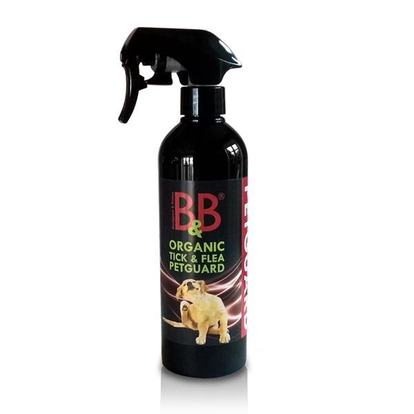 B&B  økologisk Tick & Flea Pet Guard - Hundens Valg