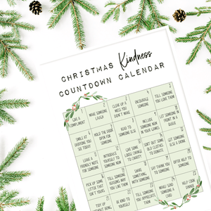 Christmas Countdown Kindness Advent Calendar